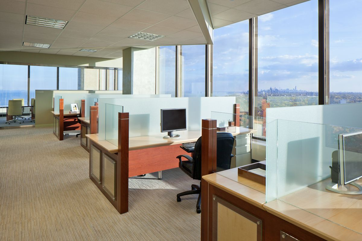 Nielson Marketing Analytics   Evanston, Illinois Office Interior Design //  The Dobbins Group