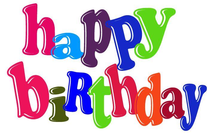 12 free very cute birthday clipart for facebook birthday rh pinterest co uk Belated Birthday Wishes Belated Birthday Humor