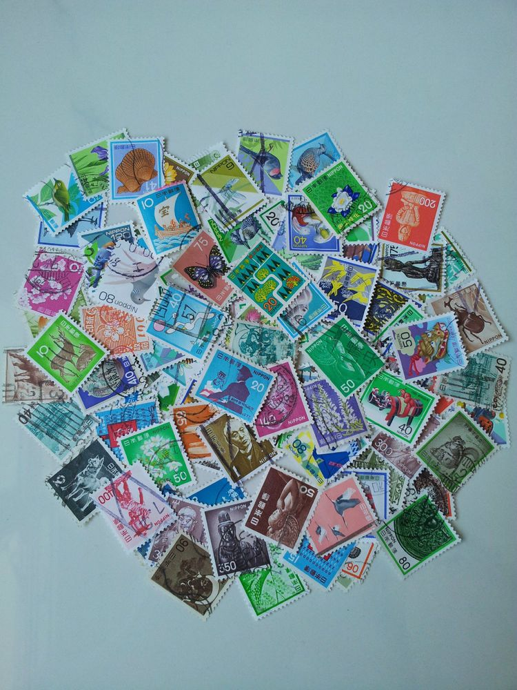 Japan Postage Stamps 100 Different**Used/Fine Used