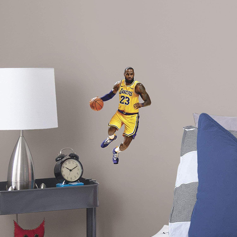 reputable site 1b59d 86296 FATHEAD NBA Los Angeles Lakers Lebron James Lebron James ...