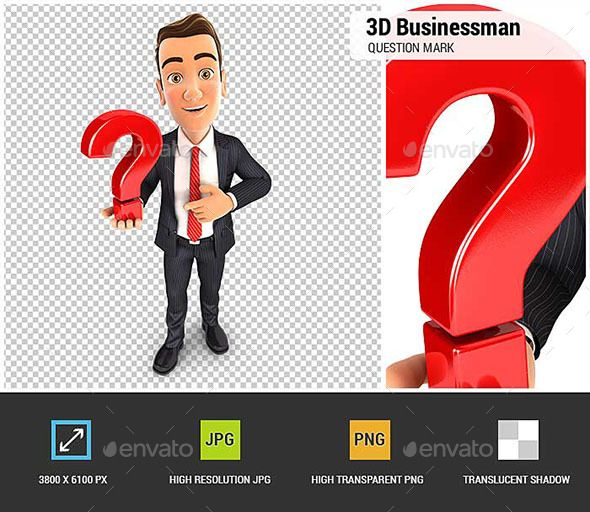 3d Businessman Holds A Question Mark This Or That Questions Business Man 3d Character