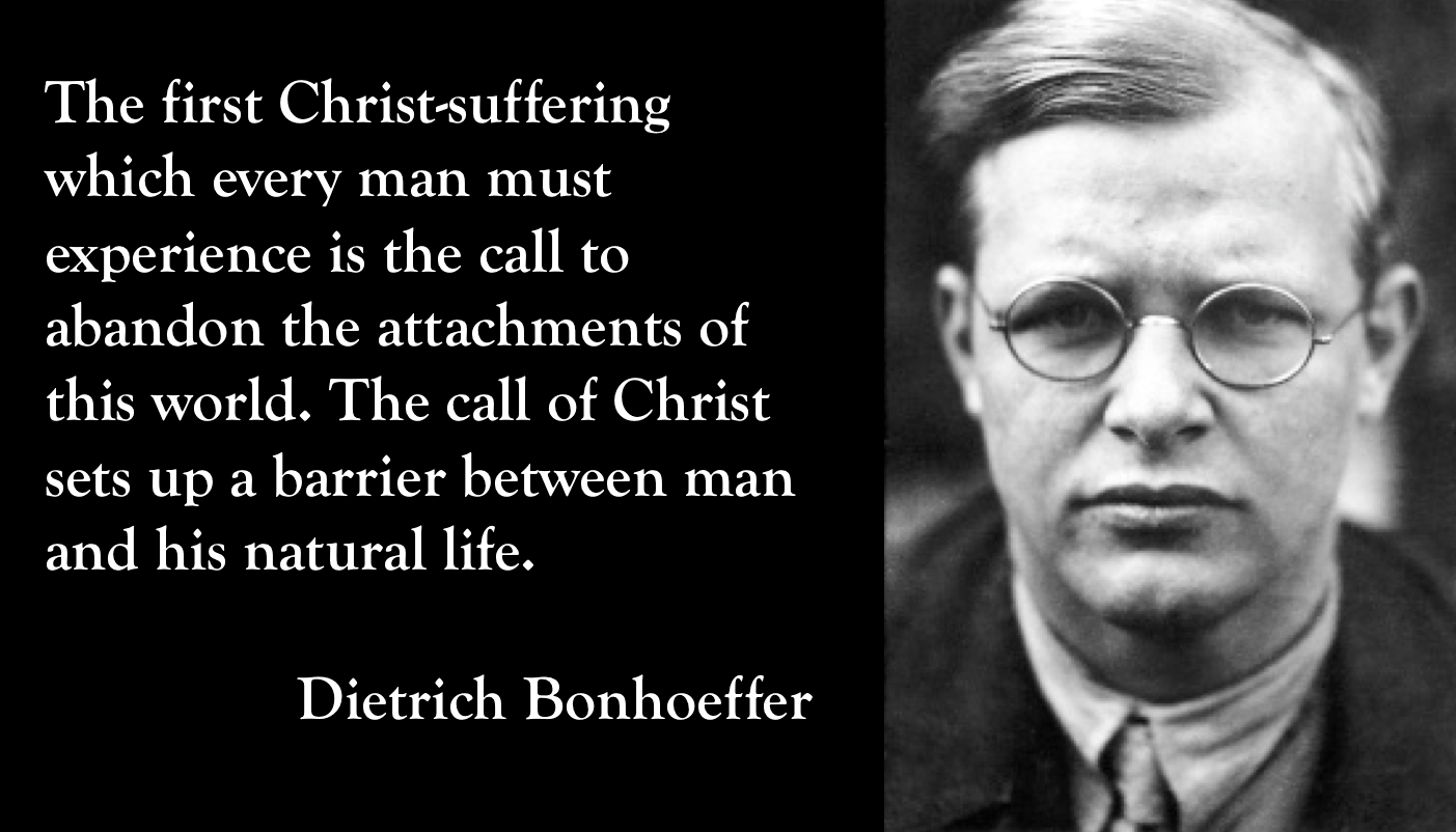 Dietrich Bonhoeffer Quotes Bonhoeffer quote on suffering. | Theology | Quotes, Christian  Dietrich Bonhoeffer Quotes