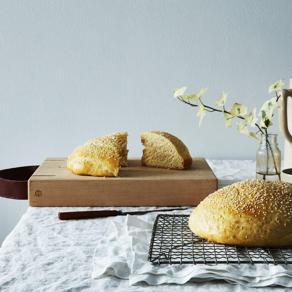 Tsoureki (Sweet Greek Easter and New Year's Bread ...