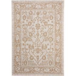 Photo of alfombra de interior y exterior benuta Cleo Cream / Beige 160×230 cm – para balcón, terraza y jardín benuta