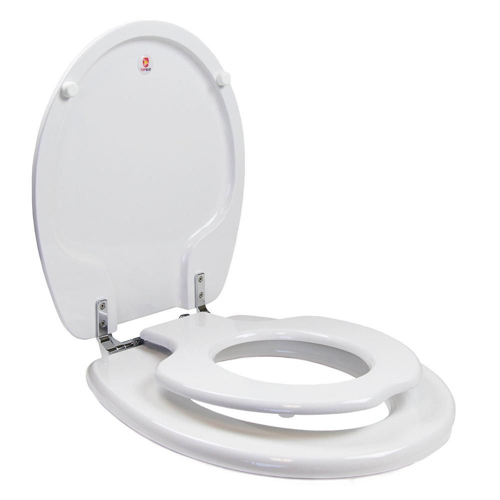 Topseat Tinyhiney Children S Round Closed Front Toilet