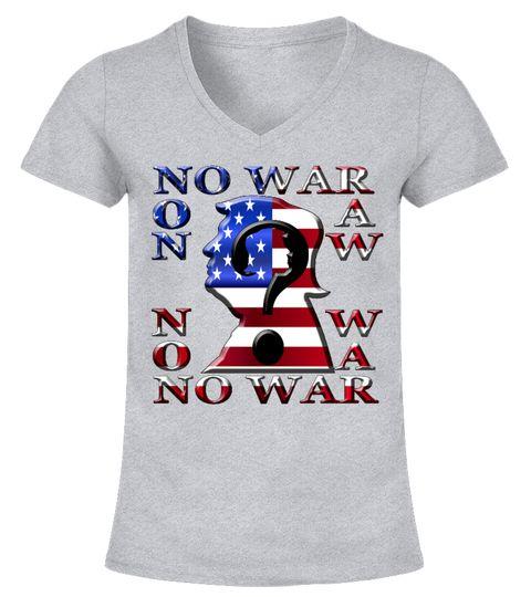 Amerika No War V-Ausschnitt T-Shirt Frauen basketball tshirts ...