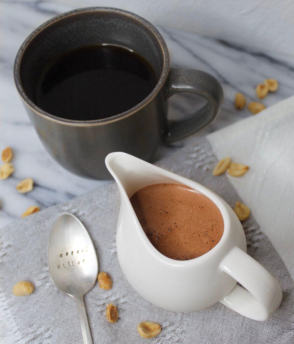 Vegan Peanut Butter Cup Oat Milk Coffee Creamer Vegan