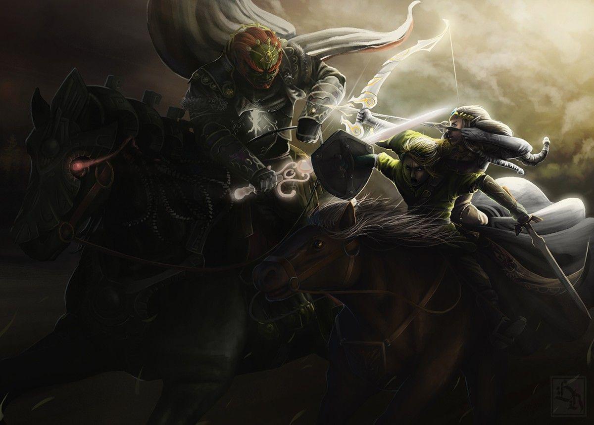 Epic Battle Zelda And Link Vs Ganondorf Legend Of Zelda