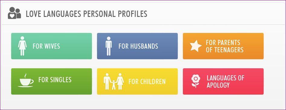 Love language personal profile