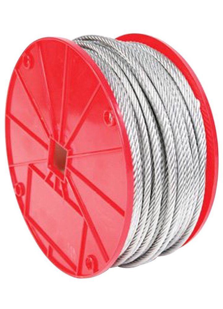Galvanized Cable Securing Straps Safety 1 16 Inch 500 Feet Garage Door Winch New Garage Home Hardware Winch Accessories Garage Doors