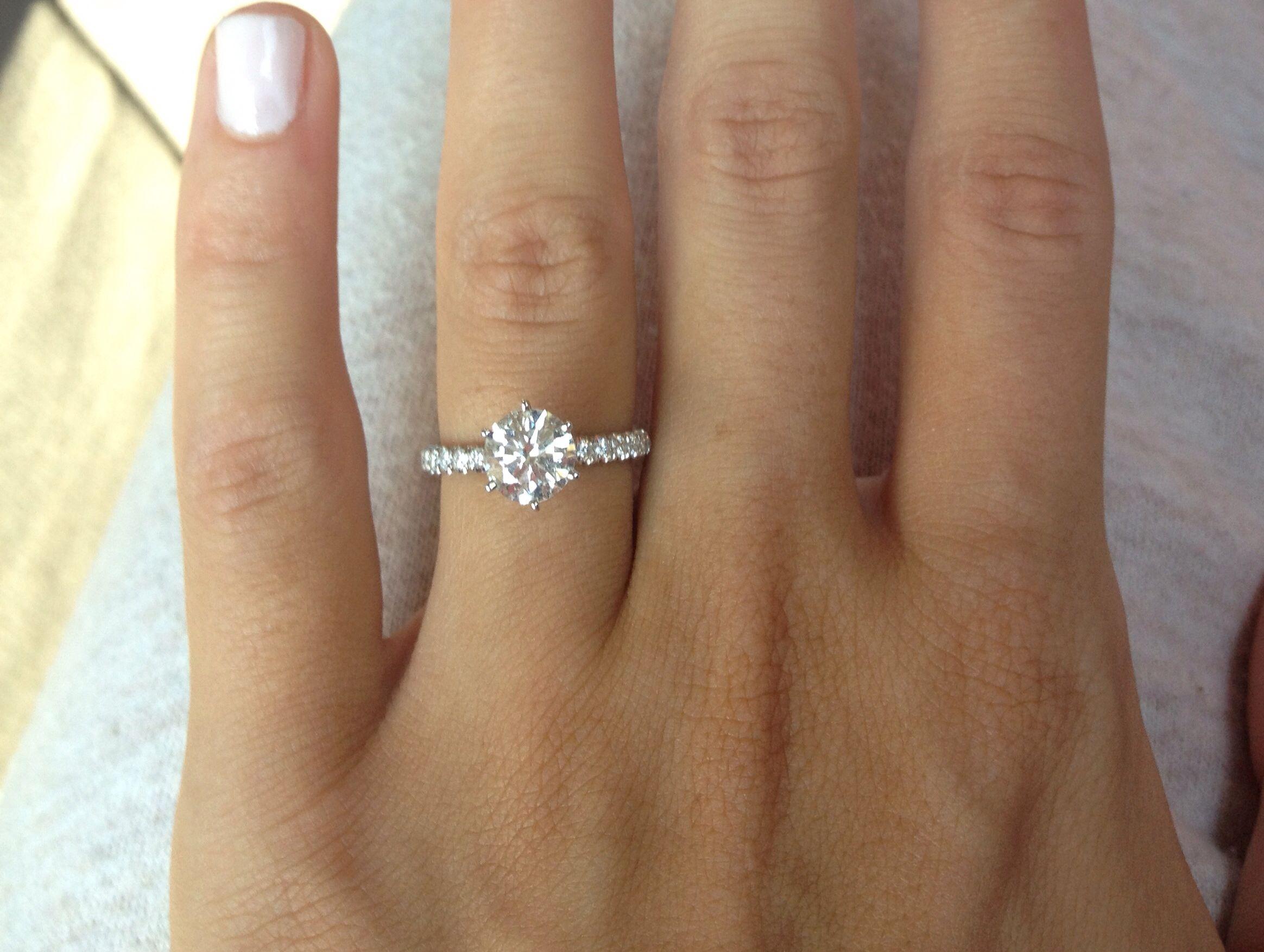 1.5 ct Platinum Diamond Solitaire Ring