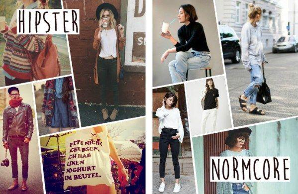 Unterschied zwischen Hipster und Normcore