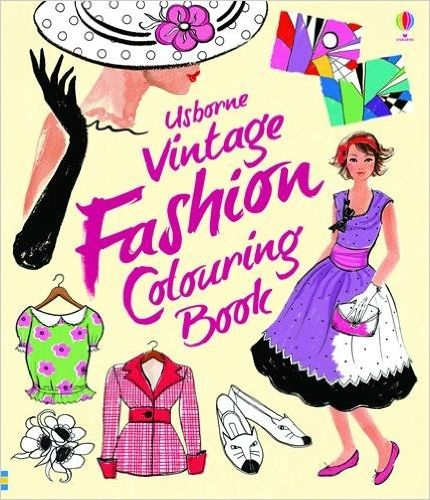 Vintage Fashion To Colour: Ruth Brocklehurst