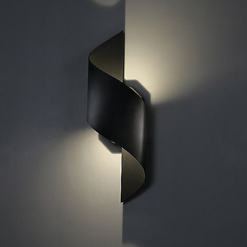 Helix Indoor Outdoor Led Wall Sconce Modern Lamp Design Led Outdoor Wall Lights Led Wall Sconce