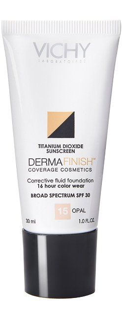 Vichy Dermafinish Corrective Fluid High Coverage Liquid ...
