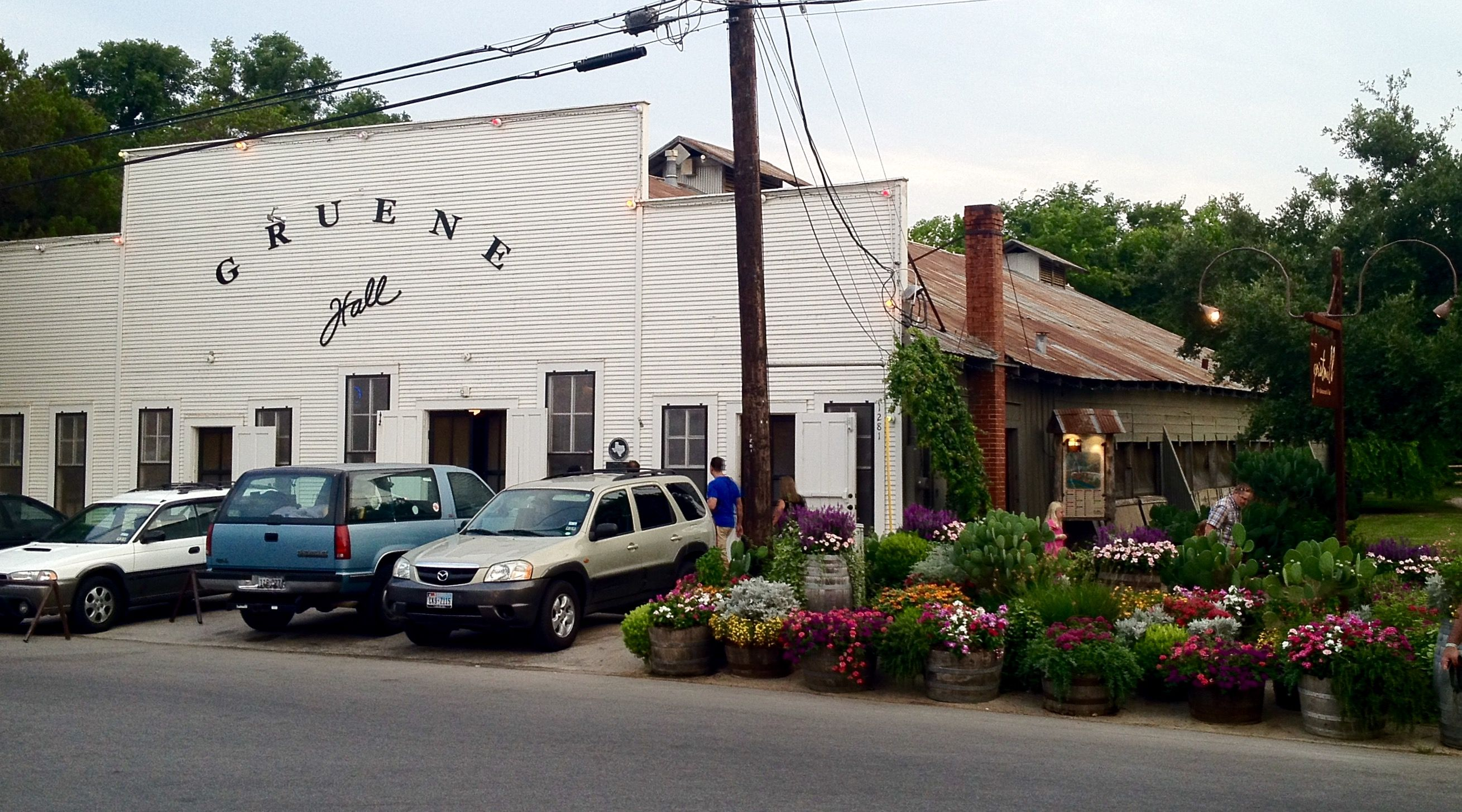 Gruene Dance Hall - the oldest dance hall in Texas