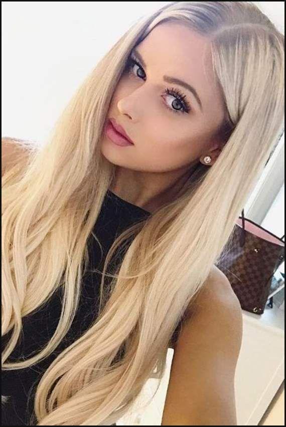 Frisuren Blonde Haare Frauen Hairstyle Frisuren Pinterest
