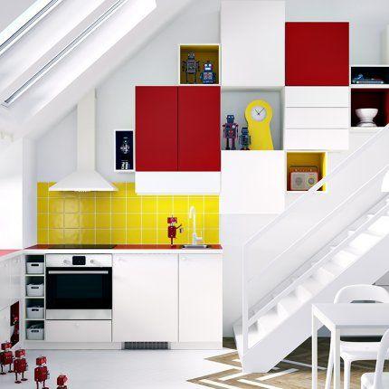 IKEA lance METOD, un système de cuisine ultra modulable.   Cucina ...