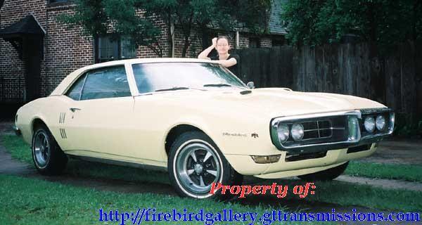 1968 Mayfair Maize Pontiac Firebird 400 Coupe   Eye Candy