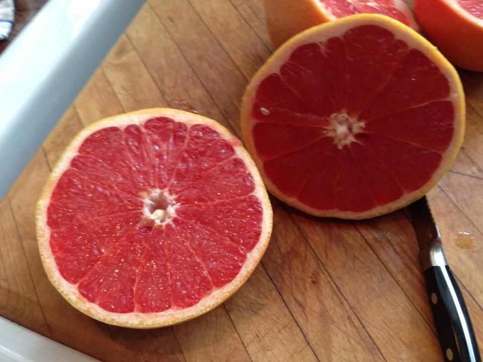 Just the smell of grapefruit energizes me!