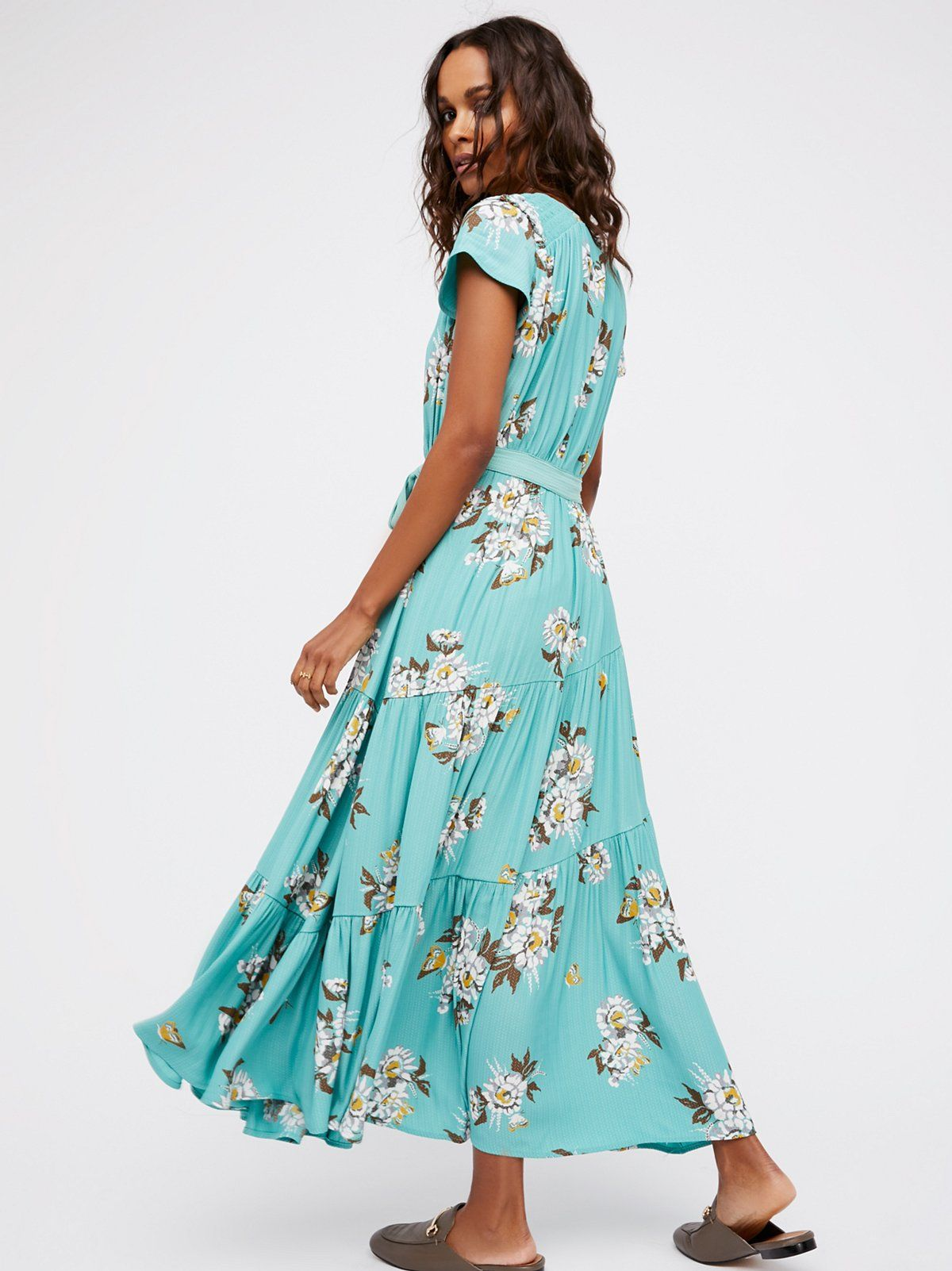 4aabb382cd6 Botanical combo All I Got Printed Maxi Dress at Free People Clothing  Boutique