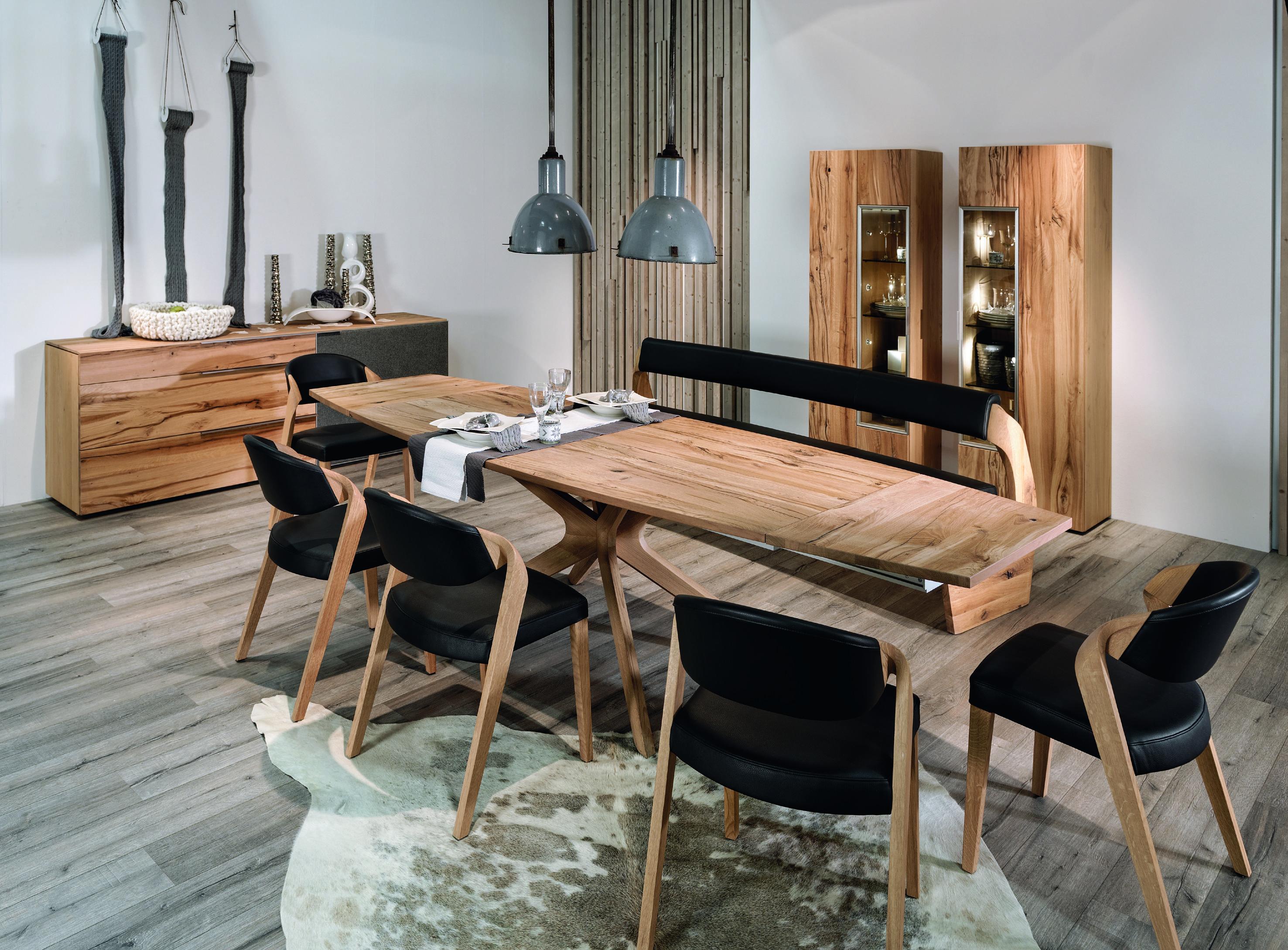 Voglauer V Alpin Dining Collection Tisch Wohnen Haus