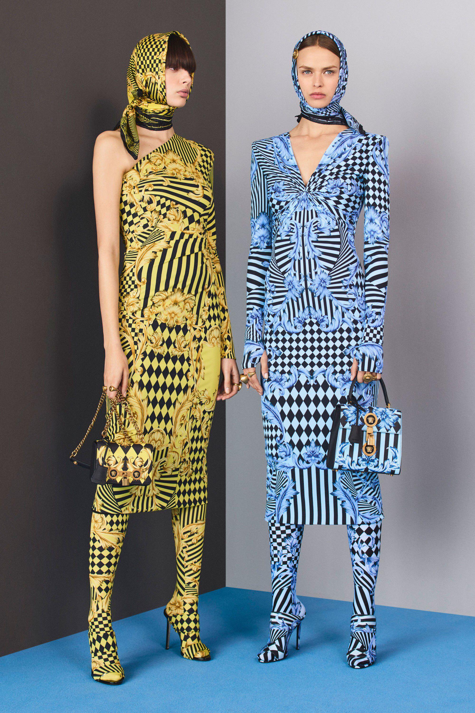 0bafbfa94e4e Versace Pre-Fall 2018 Fashion Show Collection