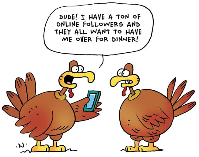 Cartoon, Animated Turkey Images for Thanksgiving Day 2019