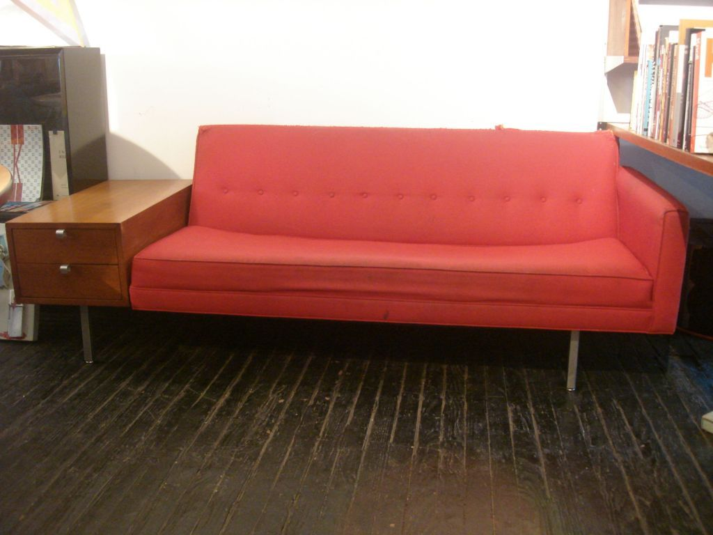 George Nelson Sofa With Drawers Herman Miller 1956 Image 2