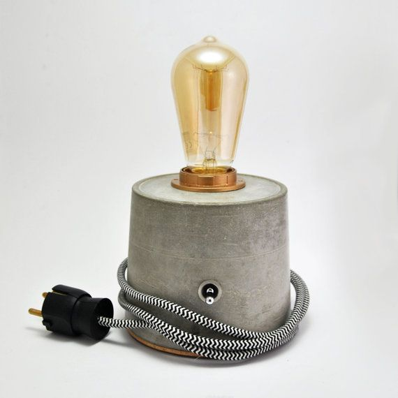 Este Articulo No Esta Disponible Concrete Lamp Lamp Modern Desk Lamp