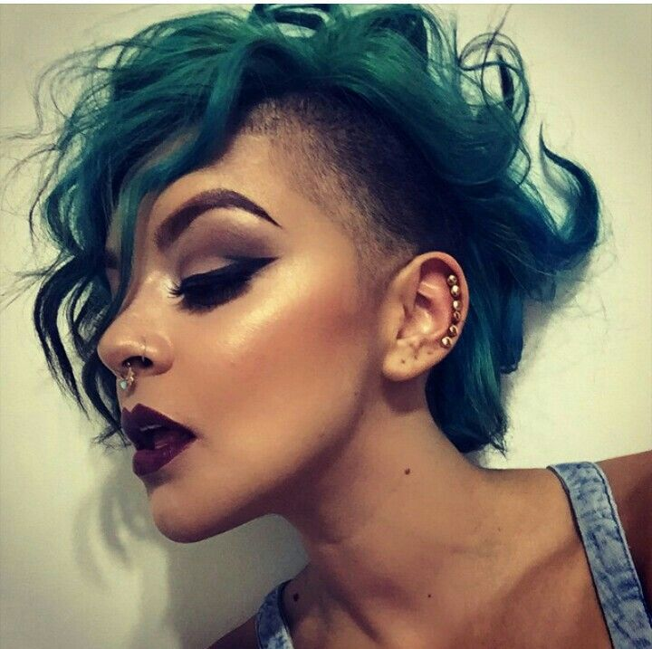 Curly Side Shave Let Down Your Hair In 2018 Pinterest Hair
