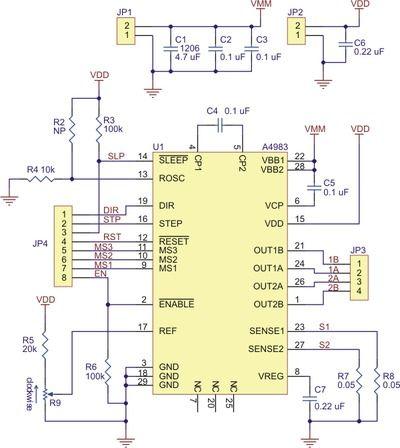 Schematic Diagram Stepper Motor Wiring | schematic and ...