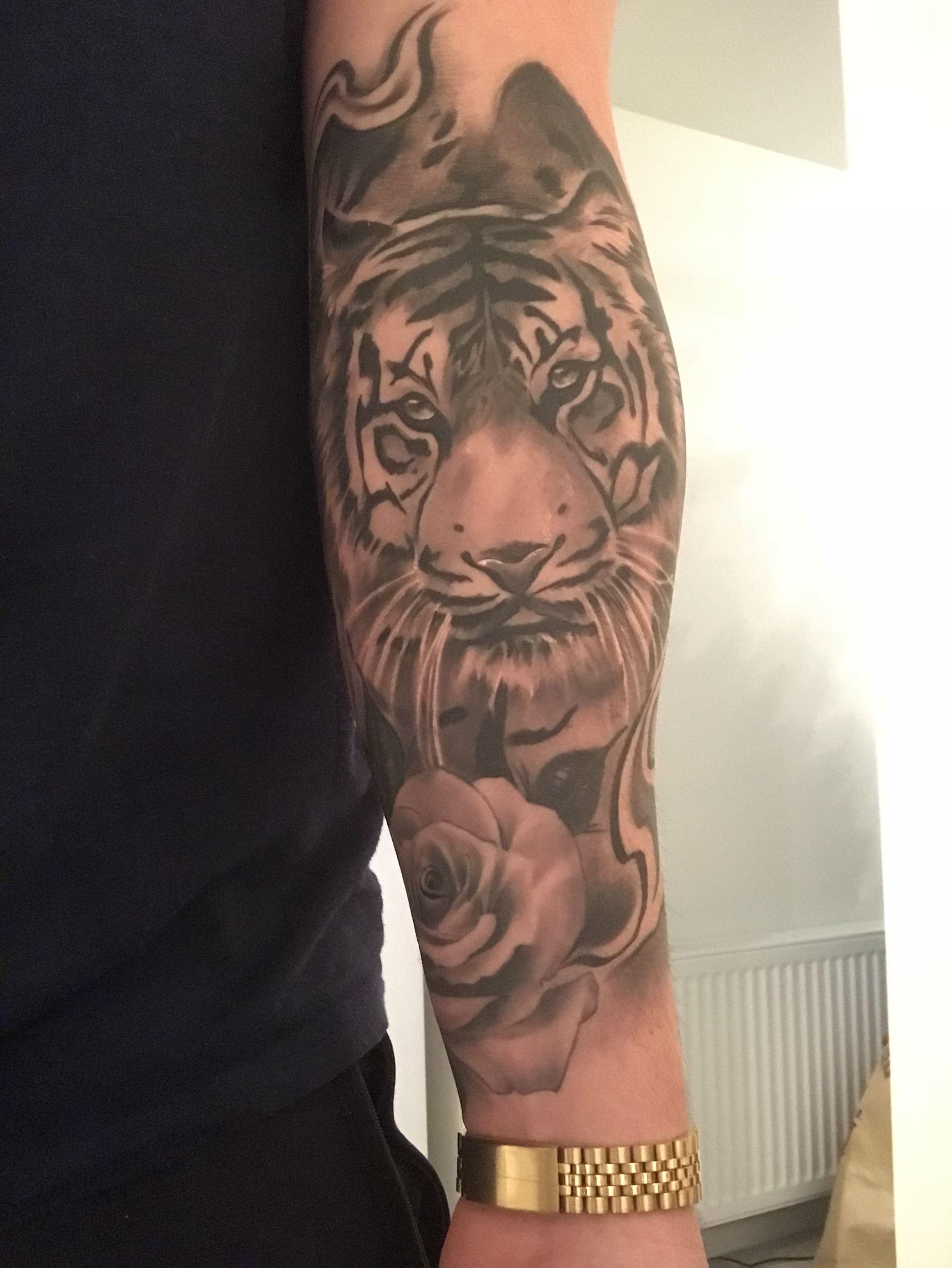 Tiger Tattoo Healed Ink Tattoos Tiger Tattoo Ink
