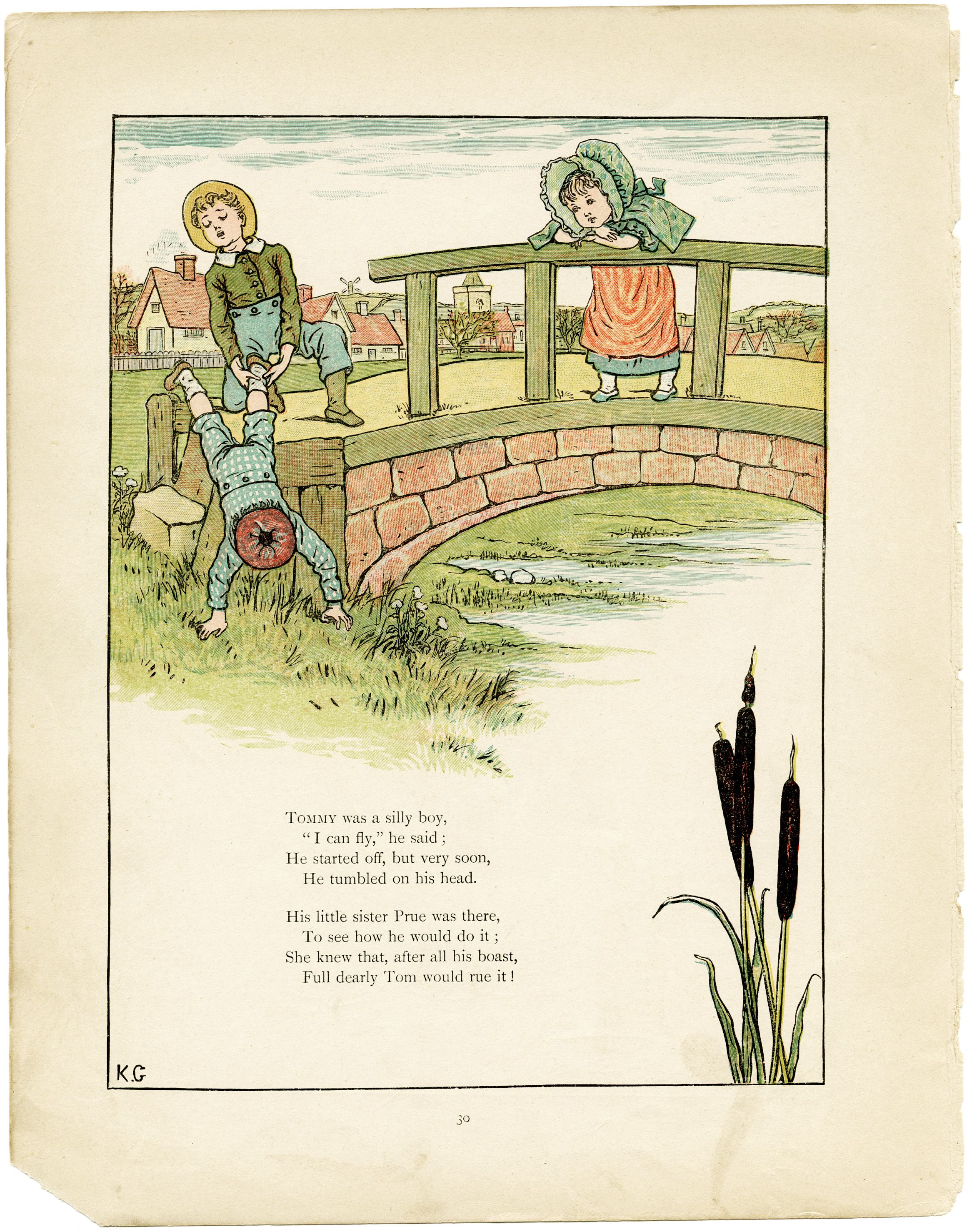 Free Vintage Image Under The Window Children S Book Page Childrens Books Illustrations Childrens Books Old Children S Books