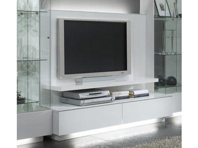 Meuble Tv Plasma Lux Laque Blanc Meuble Tv Meuble Tv Design Laque Et Meuble Tv Blanc