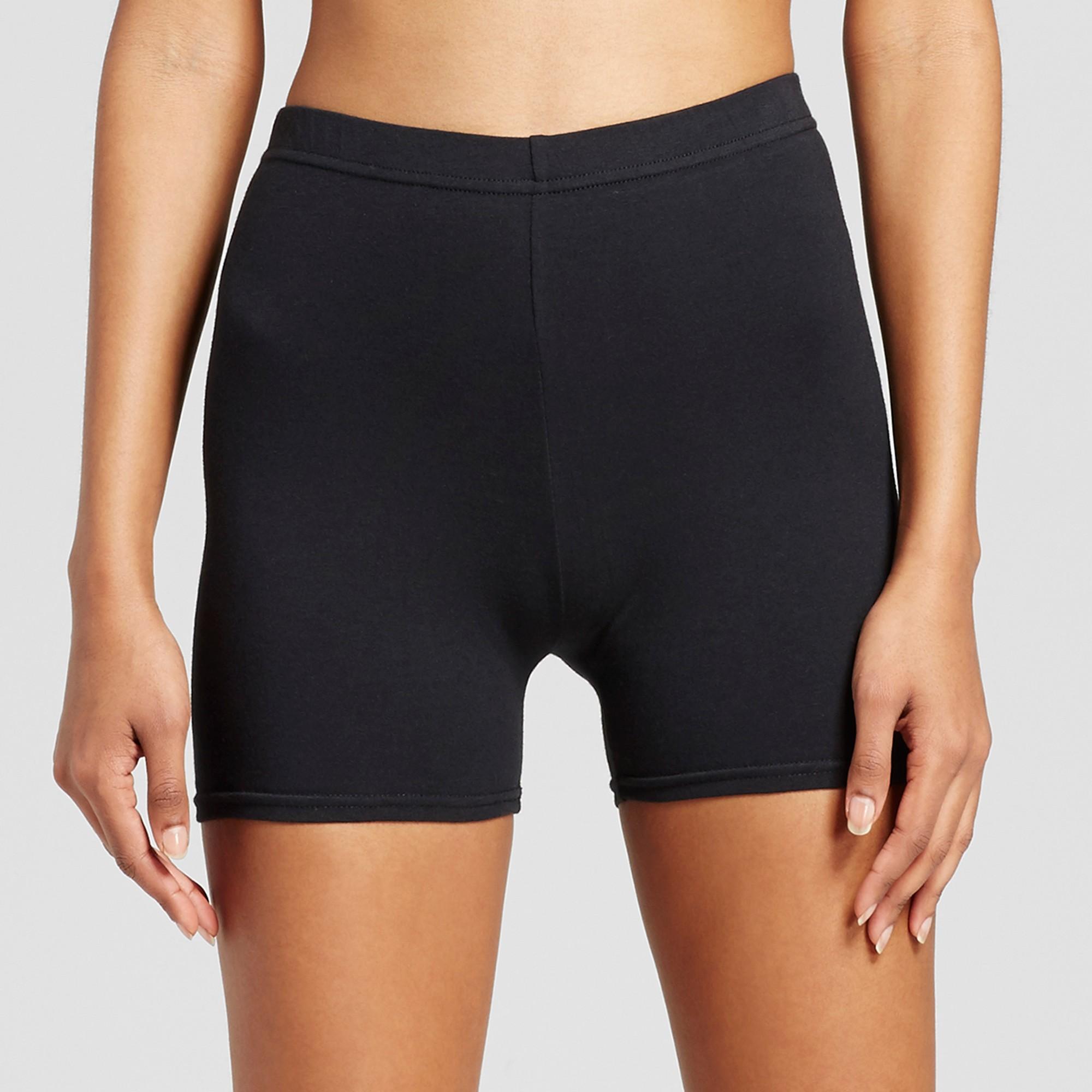Xhilaration Womens Solid Jersey Biker Short