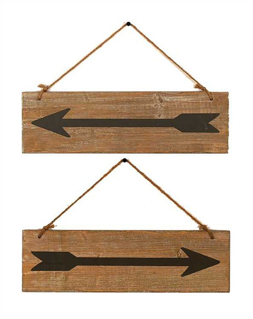 DoUBLE SiDED ArroW Sign Wood arrow Woods and Wood projects