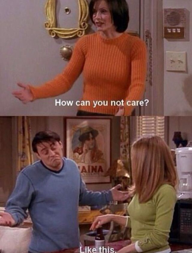 How can you not care?