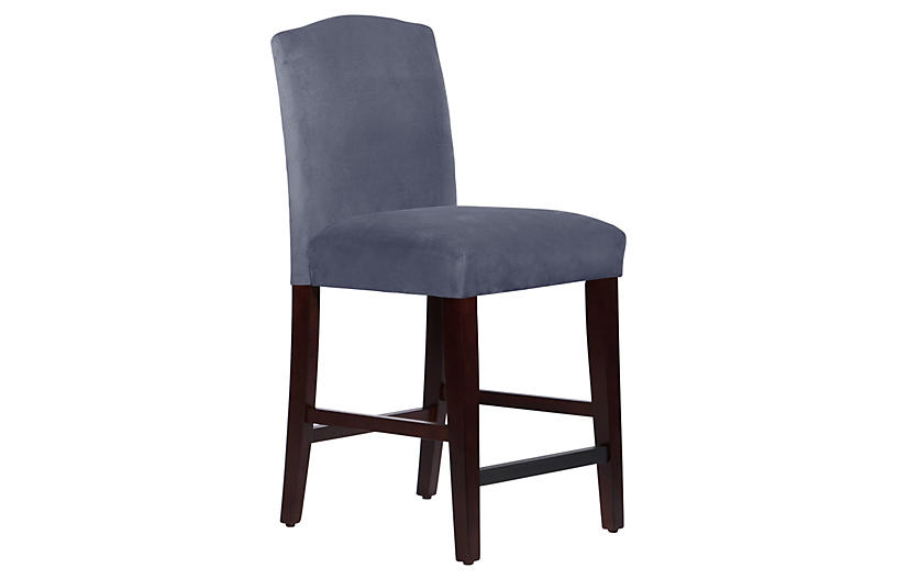 Miraculous One Kings Lane Marie Arched Counter Stool Ocean Linen Machost Co Dining Chair Design Ideas Machostcouk