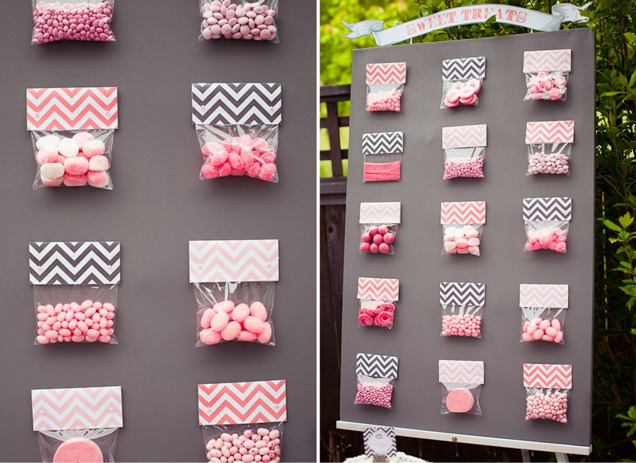 Baby Shower Ideas. (make Chevron Goody Bags For Ladies Meeting Instead Of Baby  Shower