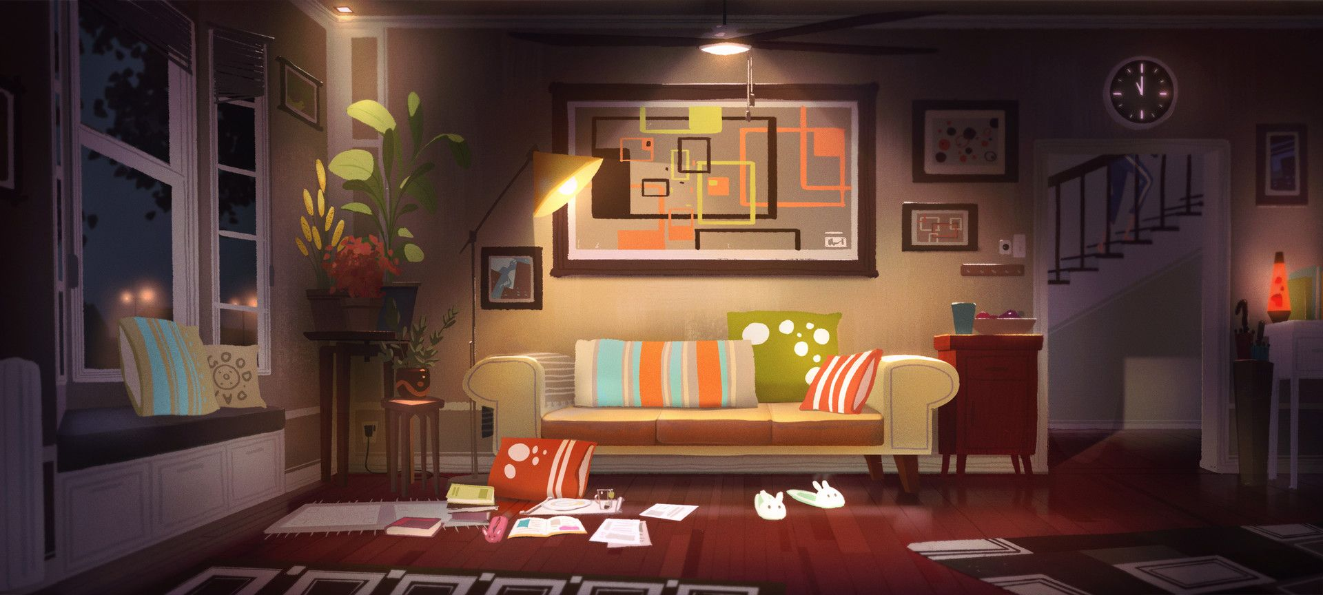 Pin On Textureing Living room background animated