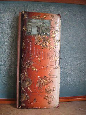 Victorian Trading Co Velvet Clamshell Photo Album