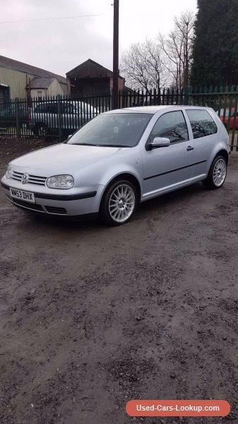 Car For Sale 2003 Vw Golf 1 4 Modified Cheap Insurance Good First Car