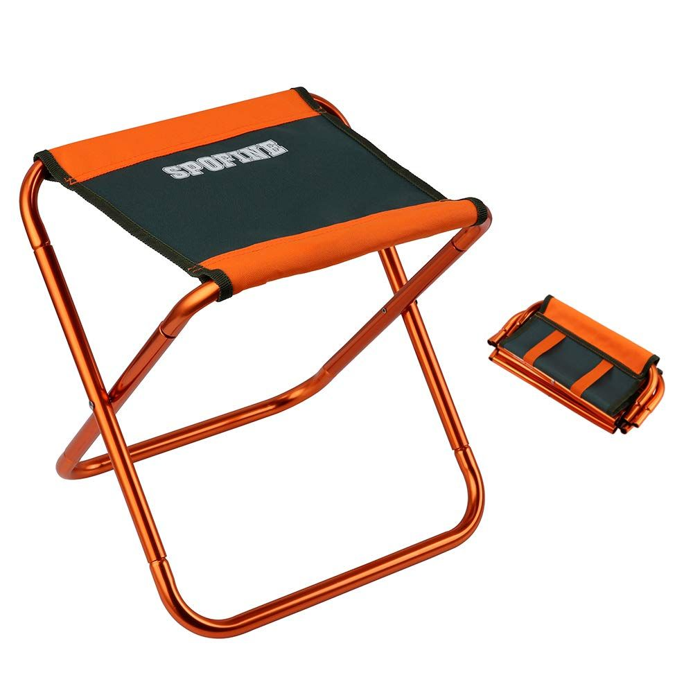 Spofine Mini Camp Stool Lightweight Camping Stool Portable Folding Camp Chair Foldable Outdoor Chairs Fo Camping Stool Folding Camping Chairs Camping Chairs