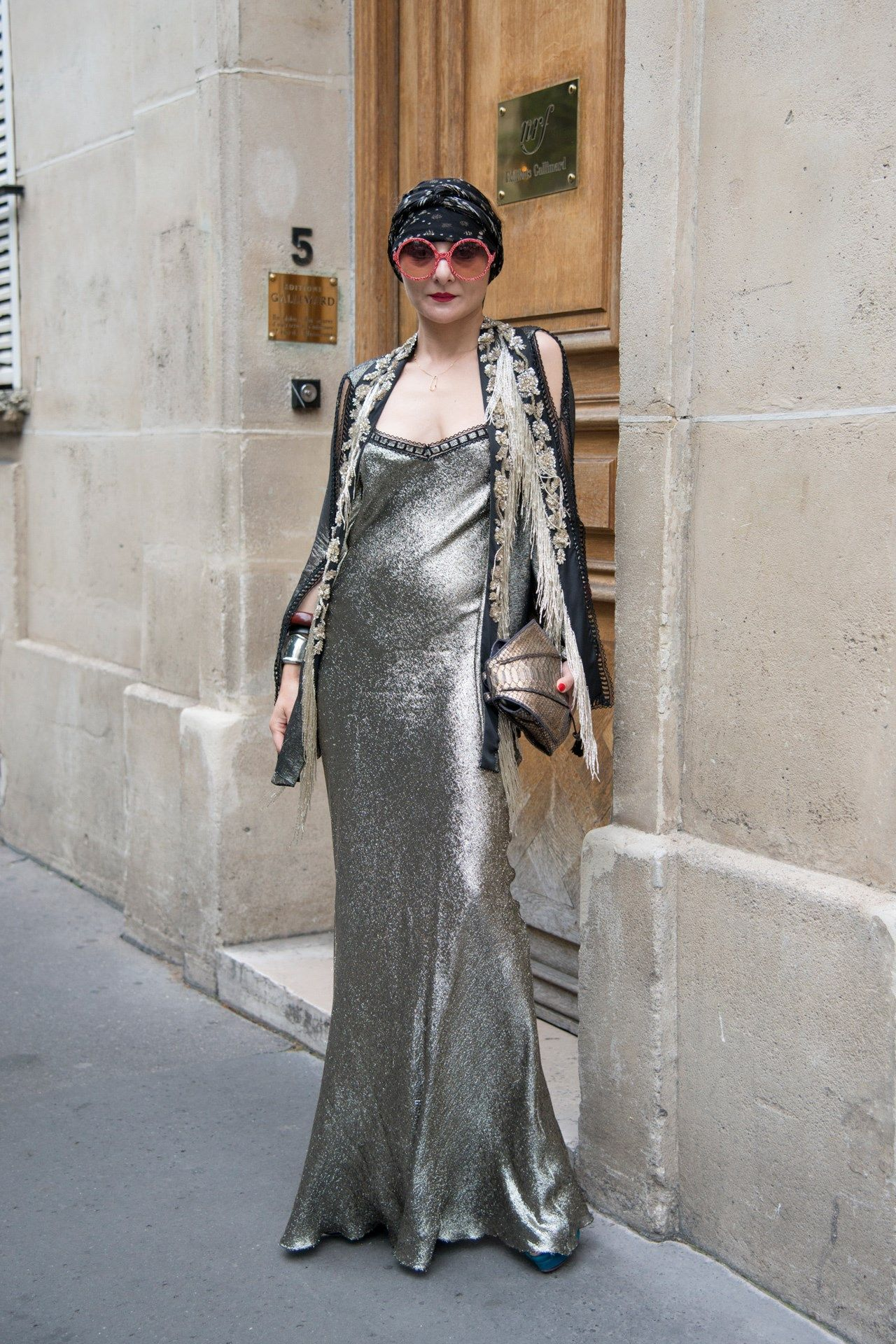 Catch up on Vogue's favourite street style looks from Paris Couture week on Vogue.co.uk.