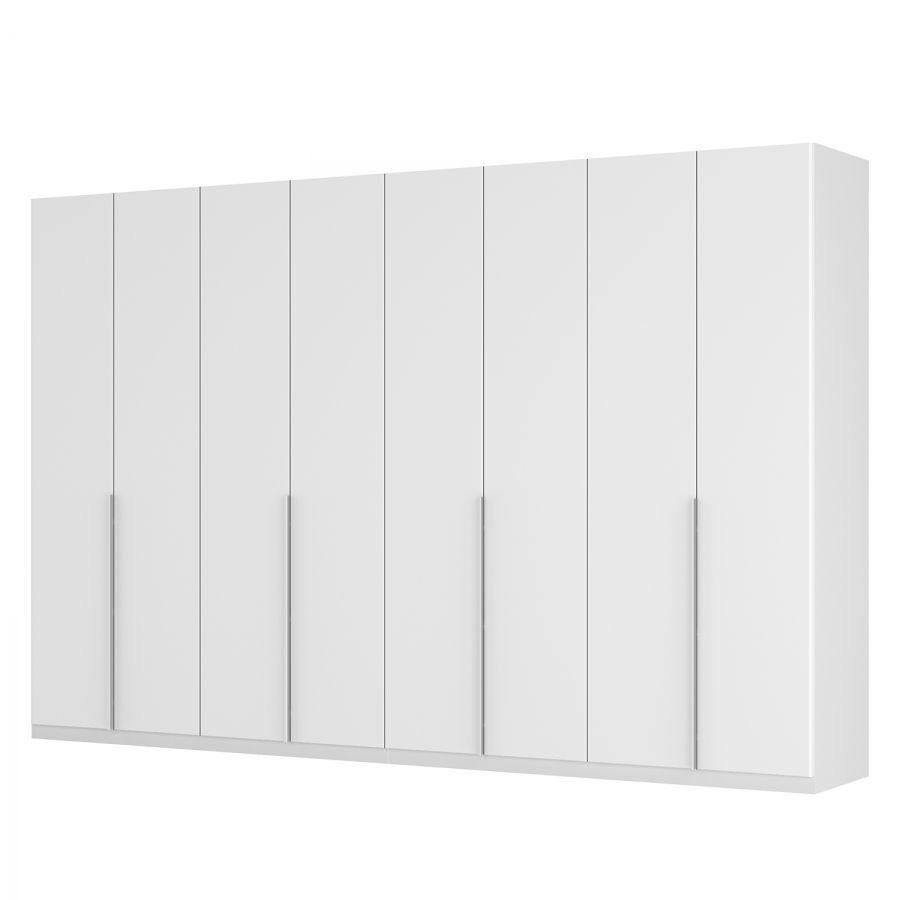 Drehtürenschrank SKØP II - Mattglas Weiß. 1099$, 315cm