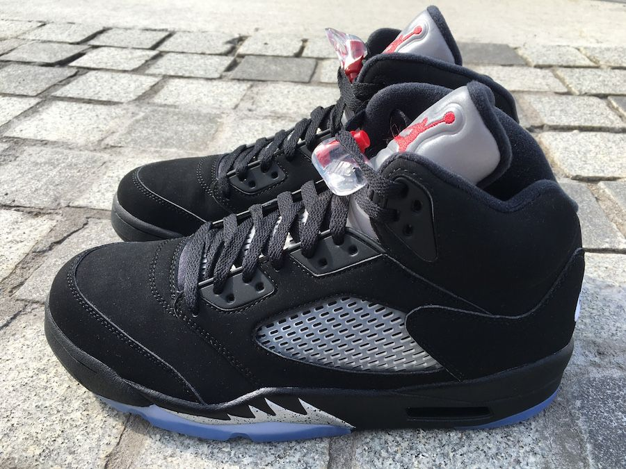 Air Jordan 5 Retro Black Metallic Silver #fashion #nike #shopping #sneakers  #