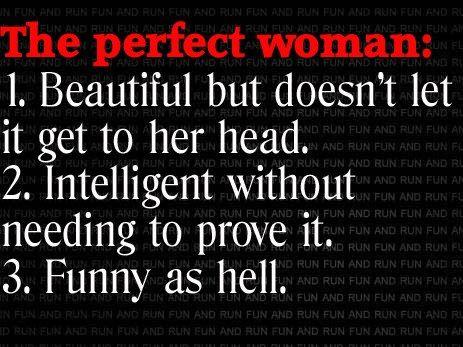Funny Facebook Status Perfect Woman Funny Facebook Quote Workout Quotes Funny Funny Quotes Funny Facebook Status