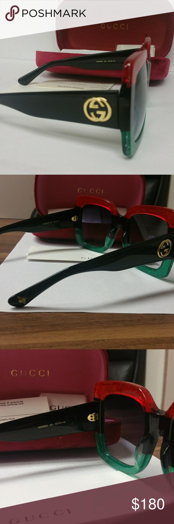New Authentic Gucci Women Sunglasses