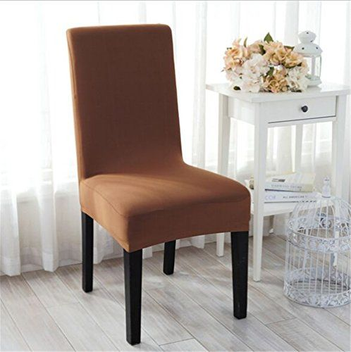 8 99 Read More Reviews Of The Product By Visiting The Link On The Image Note It Is Affiliate Slipcovers For Chairs Dining Chair Covers Brown Dining Chairs